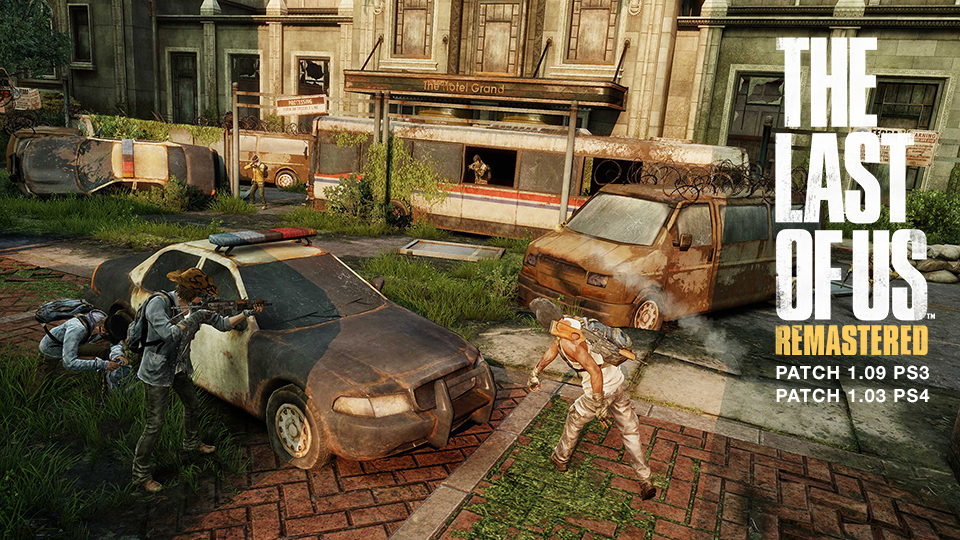 The Last of Us Patch 1.03 and 1.09 - Free Maps!