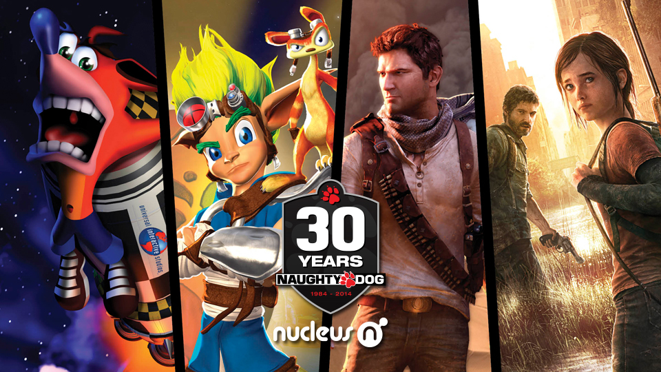 Naughty Dog 30th Anniversary Art Show and Video