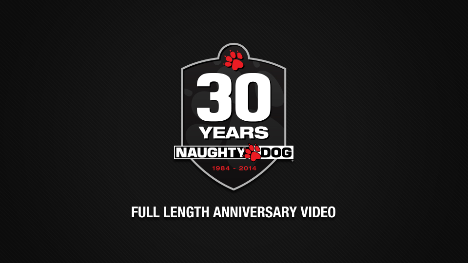 Happy Holidays from Naughty Dog: 30th Anniversary Video