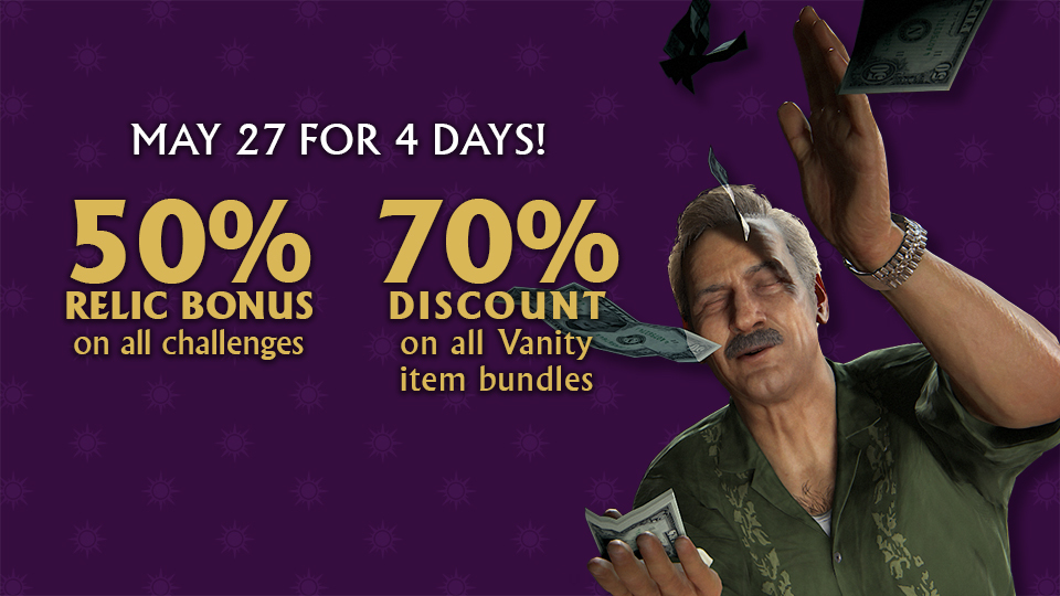 Uncharted 4 MP Bonus Weekend May 27 - 31